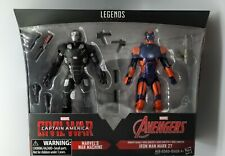 "Marvel Legends War Machine & Iron Man Mark 27 6"" Target 2 Pack, Not Sealed"