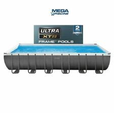 INTEX PISCINA ULTRA METAL FRAME XTR 732 x 366 x 132 SPEDIZIONE IMMEDIATA  2020