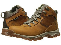 TIMBERLAND MT MADDSEN MID WATERPROOF W LT BRN LEATHER A1J1N W MENS US SIZES