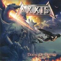 AXXIS - DOOM OF DESTINY (2007) Enhanced(+2 Bonus) =RARE CD= Jewel Case+FREE GIFT