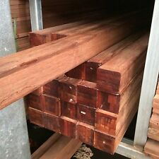 MERBAU HARDWOOD DECKING POSTS POST 90x90mm F/J K/D SELECT GRADE (03)9309 0369