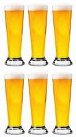 Box of 6- Libbey principe HALF PINT beer glasses professional glassware 300ml