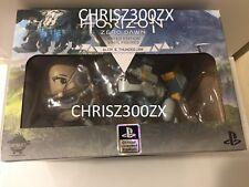 """Horizon Zero Dawn Aloy + Thunderjaw 4"""" Tall Vinyl Figure SET x2 Sony Playstation"""