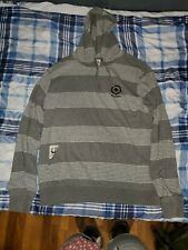 Lifted Research Group Core Collection Striped Hoodie Men's Size Medium