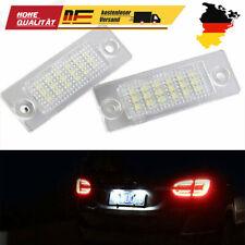2x LED Kennzeichenbeleuchtung für VW T5 Passat B5 B6 Caddy Touran Golf Plus DE