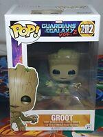 Marvel Guardians Of The Galaxy Vol.2 Groot #202 Pop Vinyl Bobble-Head Figure