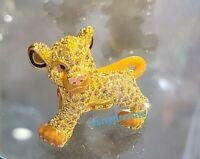 NEW DISNEY Parks Jeweled SIMBA LION KING by Arribas Swarovski® Crystals Figure