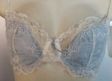 Elle Macpherson Regaled Cream Pearl Contour bra Size 36D