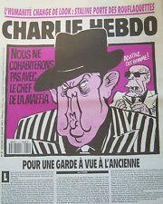CHARLIE HEBDO No 31 JANVIER 1993 CABU PASQUA PAS DE COHABITATION AVEC LA MAFIA