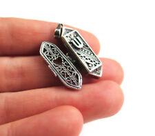 Silver Mezuzah pendant Made from 925 sterling silver. Size 1 inch Jerusalem