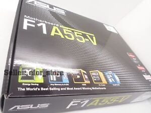BRAND NEW ASUS F1A55-V Socket FM1 ATX Motherboard A55 FCH Hudson D2 USB 3.0 HDMI