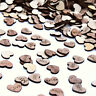 Hollow Rustic Small Wooden Hearts Love Wedding Table Decorations Confetti NE8