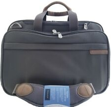 Briggs & Riley Briefcase Expandable Organized Computer Travelware BB104X