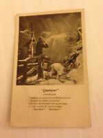 "Song Card ""Excelsior "" Religious Bamforth Postcard - Stamped"