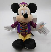 """Disney Hong Kong Disneyland Chinese style Mickey  Mouse Stuffed Plush 11"""""""