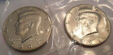 1991 P & D Kennedy Half Dollar Set (2 Coins) *MINT CELLO*  **FREE SHIPPING**