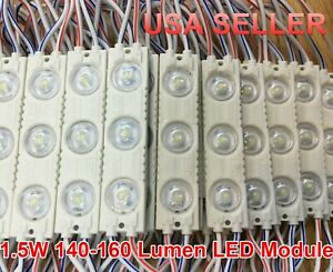 Super Bright 1.5W  LED Module DC12 For Sign Window OutdoorWaterproof  USA SELLER