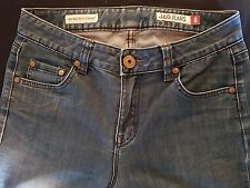 ***WOMEN'S JAG JEANS STRETCH HIGH RISE REG FIT STRAIGHT LEG SIZE 8***