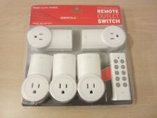 ETEKCITY ZAP 5LX PROGRAMMABLE WIRLESS REMOTE CONTROL OUTLET SWITCH, FREE S&H