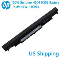 New Genuine HP HS04 HS03 807956-001 807957-001 807612-421 HSTNN-LB6V G4 Battery