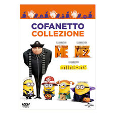 COFANETTO/BOX  3 DVD Cattivissimo Me, Cattivissimo Me 2  Minions  vers italiana