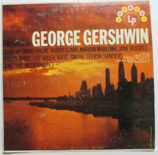 THE MUSIC OF GEORGE GERSHWIN 33 RPM VINYL,SUNG BY DINAH SHORE,JANE RUSSELL++ VG+