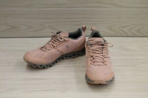 On Cloud WP 19.99831 Running Sneaker - Women's Size 8 M, Rose/Lunar