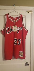 100% Authentic Michael Jordan Mitchell & Ness Rookie 84/85 Bulls Jersey 52 XXL
