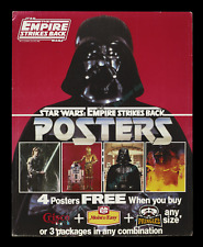 STAR WARS The Empire Strikes Back ☆ P&G MOVIE POSTER offer STORE DISPLAY HEADER