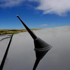 Alu Auto Design 16V schwarz Antenne Kurzstabantenne Dachantenne 90mm universal