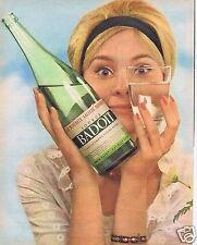 Publicité Advertising 066 1962 Badoit eau gazeuse