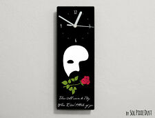 Phantom of the Opera Quotes - There will never be a day ...  - Wall Clock