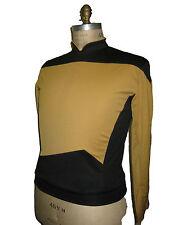 STAR TREK TNG Uniform deluxe - gold  XL - unisex - offizielles Lizenz Produkt