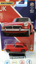 Matchbox Best of UK 1971 MGB GT Coupe (NP43)