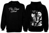 The Dope Game Mens Heavyweight Pullover Hoodie Chicano Art Lowrider