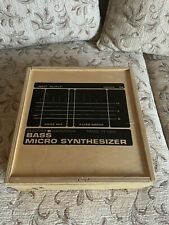 Vintage Ehx Micro Bass Synth