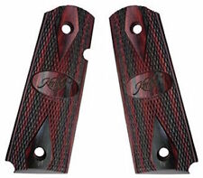 Kimber Ruby Charcoal Laminate 1911 Pistol Grips, Custom/ Pro Full S. No.1100211A