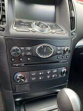 Infiniti FX EX 37 50 QX70 G37 35 schwarze Drehregler Aluminium Radio Knöpfe