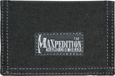 Maxpedition Micro Wallet Black 0218B Super thin design. Truly a minimalist's wal