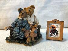 Boyds Bear Little Spooners Norman Rockwell Saturday Post Figurine 4018698