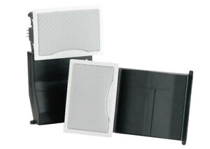 BOSE Virtually Invisible Flush-mount White In-wall 100W Speakers( pair)Model-191