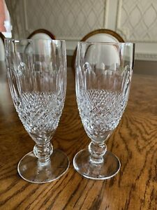 Waterford COLLEEN Short Stem CHAMPAGNE GLASSES/ FLUTES  602/137 EXCELLENT COND