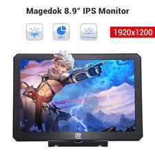 "Magedok 8.9"" Small IPS LCD TFT Gaming Monitor 1920*1200 170° Wide Angle 350cd/m²"