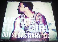 Guy Sebastian Feat Eve Who's That Girl Rare Australian Only CD Single - Like New