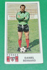 N°298 DANIEL BERNARD STADE RENNES ROAZHON PANINI FOOTBALL 77 1976-1977