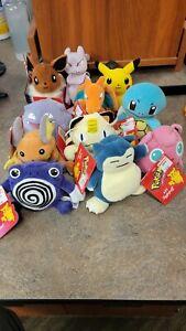 Nintendo pokemon lot 13 stuffed pokemon