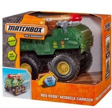 Matchbox Rev Rigs Military Truck NEW