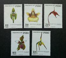 Peru Orchids 1973 Flower Flora Plant (stamp) MNH