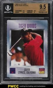1996 Sports Illustrated For Kids Tiger Woods ROOKIE RC #536 BGS 9.5 GEM MINT