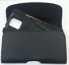 FOR SPRINT HTC Bolt  XL BELT CLIP LEATHER HOLSTER FITS A HYBRID CASE ON  PHONE